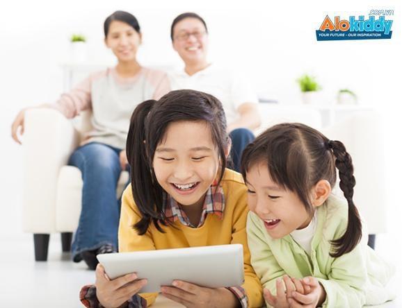 Học tiếng Anh tại nhà - niềm vui của trẻ, tiết kiệm chi phí cho ba mẹ.