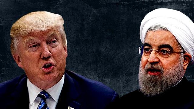 Tổng thống Donald Trump và người đồng cấp Iran Rouhani (Ảnh: PCT Network)