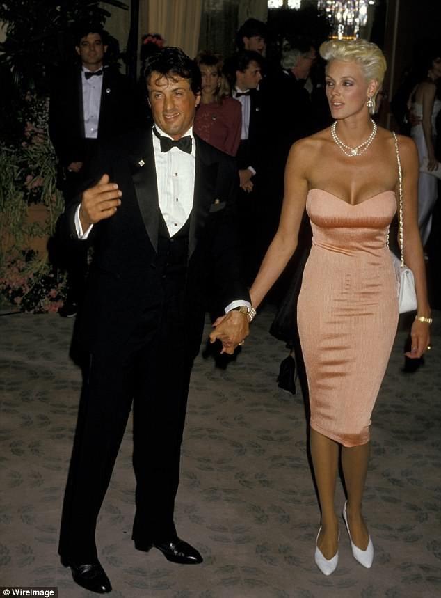 Brigitte Nielsen và Sylvester Stallone thuở còn gắn bó