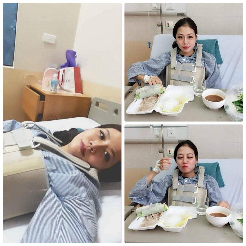 Một số hình ảnh tại bệnh viện của Thảo Linh