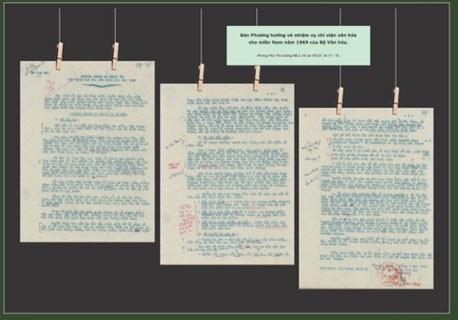 """Triển lãm tài liệu lưu trữ """"Kỷ vật đi B - Quảng Trị - Ngày trở về"""" - 2"""