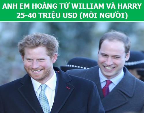 Ngỡ ngàng với mức độ giàu có của các thành viên Hoàng gia Anh - 3