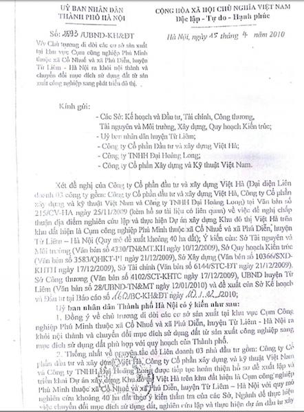 Gần 30 doanh nghiệp kêu cứu giữa thủ đô: Nhiệm vụ UBND TP Hà Nội giao được thực hiện đến đâu? - 1