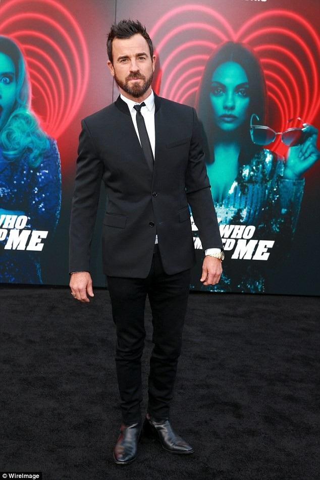 Cùng dự công chiếu phim còn có nam diễn viên Justin Theroux