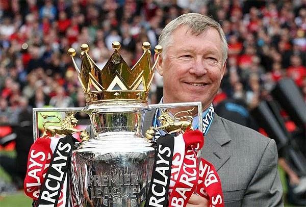 MU đã có được 13 chức vô địch dưới thời của HLV Alex Ferguson