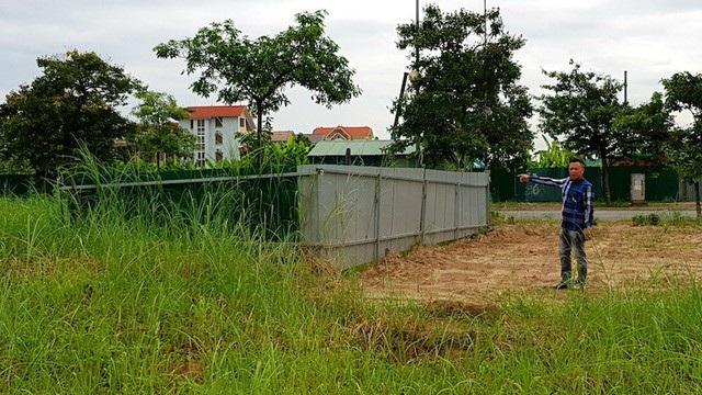 Khu đất trên thực tế đã được UBND huyện Gia Lâm thực hiện các thủ tục cấp sổ đỏ cho các hộ dân khác.