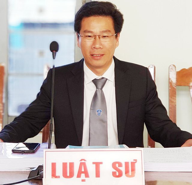 Luật sư Trần Bá Học (Hãng Luật Roma, TPHCM)