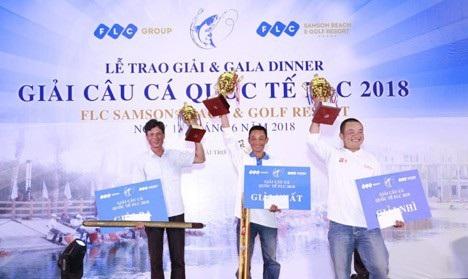 Giải câu cá Quốc tế FLC lần 2018 lần thứ nhất đã diễn ra tại FLC Sầm Sơn