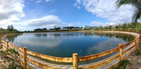 Hồ Thiên Nga trong vườn thú FLC Zoo Safari sẽ là nơi diễn ra Giải câu cá Quốc tế FLC 2018 lần 2 tại FLC Quy Nhơn