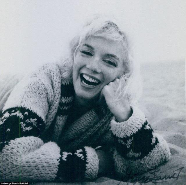 Marilyn Monroe trong bức ảnh chụp cuối đời.