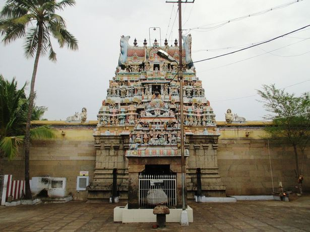 Ngôi đền cổ Panchavarnaswamy,có niên đại cách đây 2.000 năm.