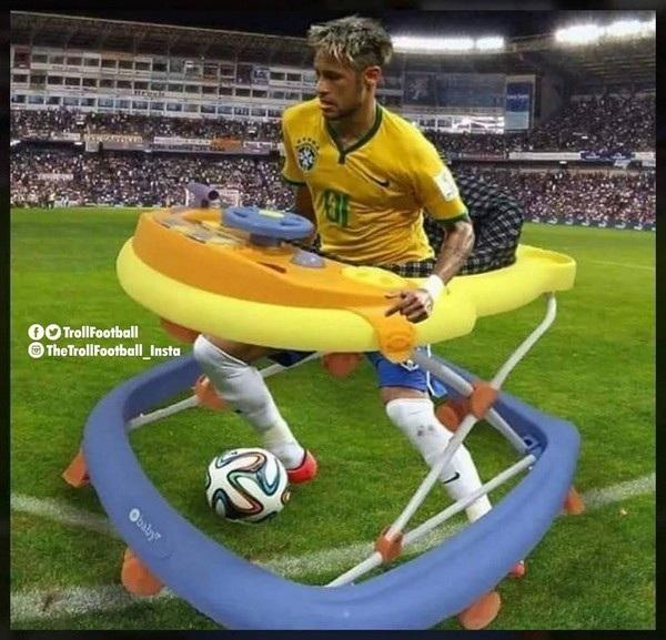 Phải chăng đây là giải pháp để ngăn chặn những pha ngã liên tục của Neymar trên sân?