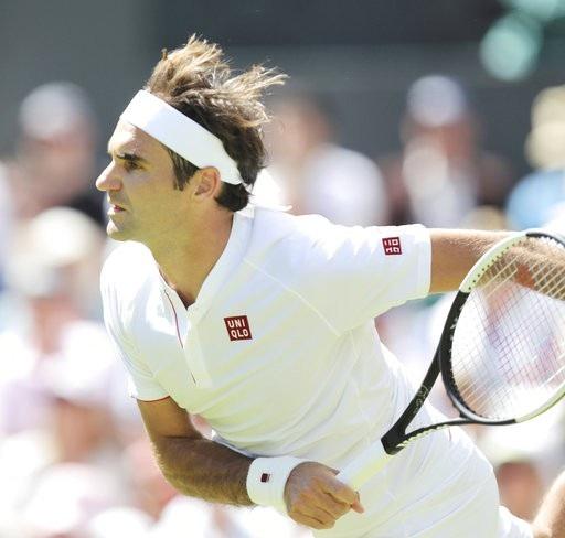 Federer đã có chiến thắng dễ dàng ở trận đầu