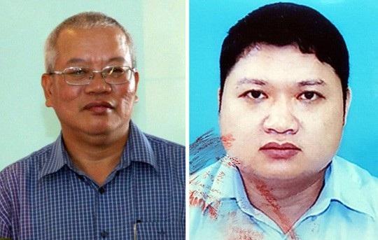 Trần Trung Chí Hiếu (trái) và Vũ Đình Duy (ảnh Người lao động)