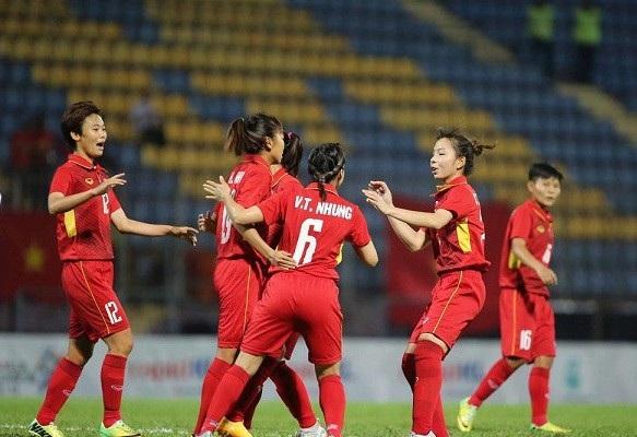 Đội tuyển nữ Việt Nam đã có sự khởi đầu hoàn hảo ở giải Đông Nam Á