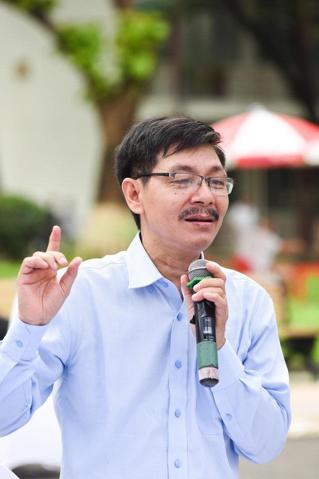PGS.TS Trần Văn Tớp, Phó Hiệu trưởng trường ĐH Bách khoa Hà Nội.