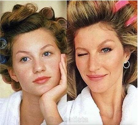 Dù là ngây thơ hay từng trải thì Gisele Bundchen cũng cực kì xinh đẹp