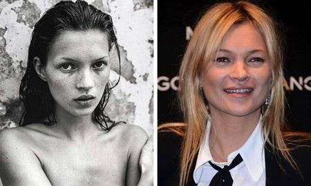 Dĩ nhiên, khí chất của Kate Moss ngay từ thuở mới vào nghề đã khiến ai nấy xao xuyến khó tin