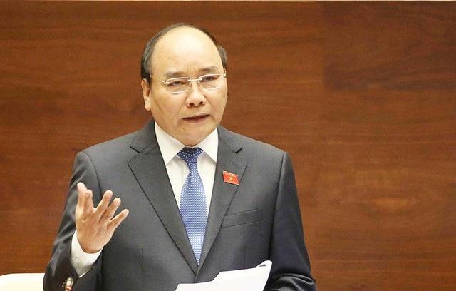 Thủ tướng Nguyễn Xuân Phúc trả lời chất vấn đại biểu Trần Thị Quốc Khánh bằng văn bản.