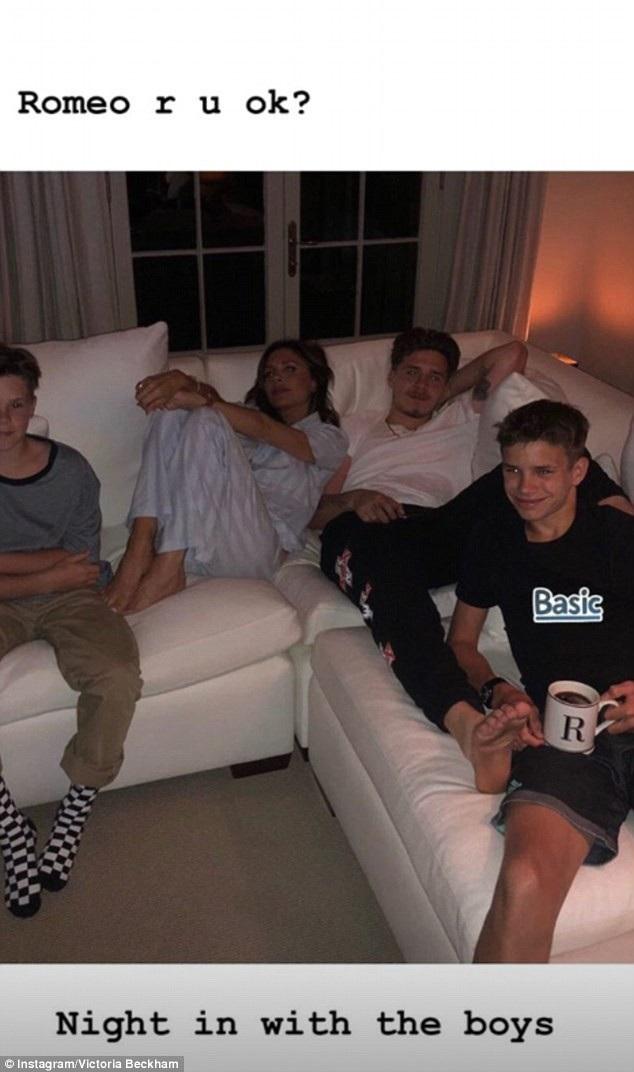 Vợ chồng Beckham là những người của gia đình và vì thế trang cá nhân của 2 người tràn ngập hình ảnh con cái