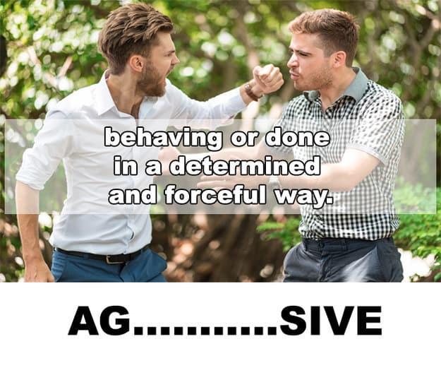 """Bạn được """"bật mí"""" từ đó là AG…SIVE"""