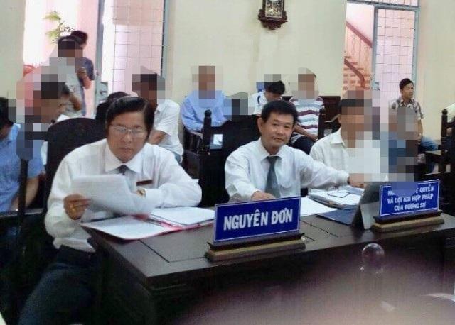Một phiên tòa giữa Công ty Cấp nước Cà Mau và công nhân. Sự đồng hành của các Luật sư cũng đã góp phần lấy lại quyền lợi chính đáng của các công nhân.