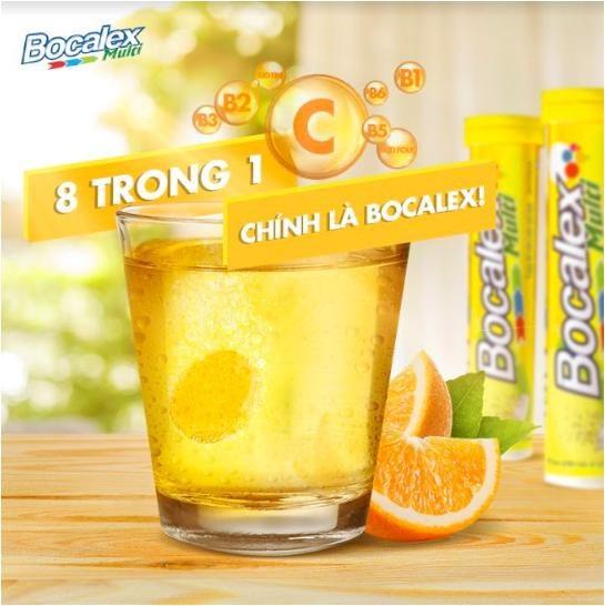 Bocalex cung cấp 8 loại vitamin thiết yếu