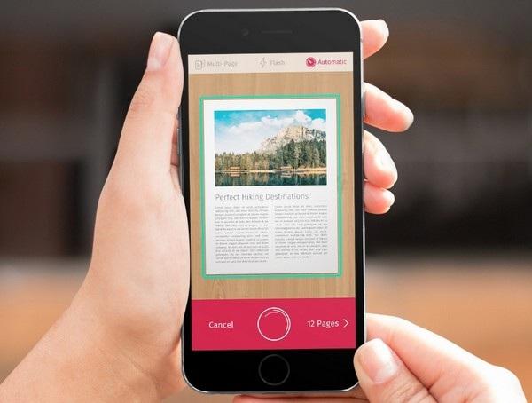 Những ứng dụng biến smartphone thành máy scan tài liệu, hình ảnh - 1