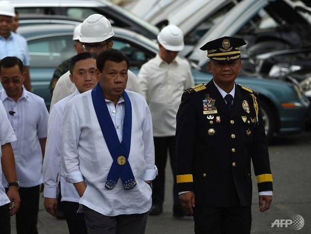 Tổng thống Duterte (Ảnh: AFP)