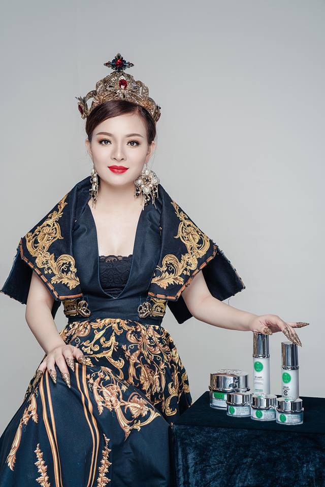 Á hậu doanh nhân Thái Ngân nỗ lực phát triển thương hiệu làm đẹp Việt - 1