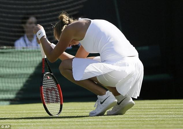 Kvitova thất vọng khi thất bại ở vòng đầu