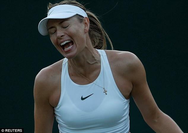 Sharapova gây thất vọng lớn khi không thể tiến sâu ở Wimbledon