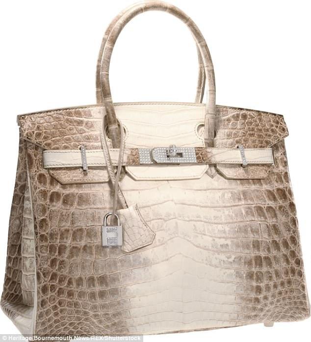 Chiếc túi Hermes Himalaya Birkin