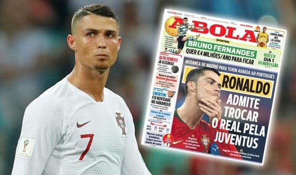 C.Ronaldo được cho là sẽ rời Real Madrid để đến Juventus ngay mùa hè này