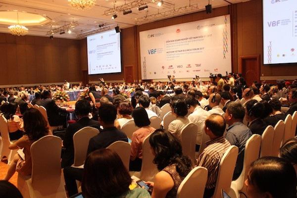 Diễn đàn Doanh nghiệp Việt Nam (VBF) giữa kỳ 2018 do VCCI phối hợp với các tổ chức quốc tế thực hiện.