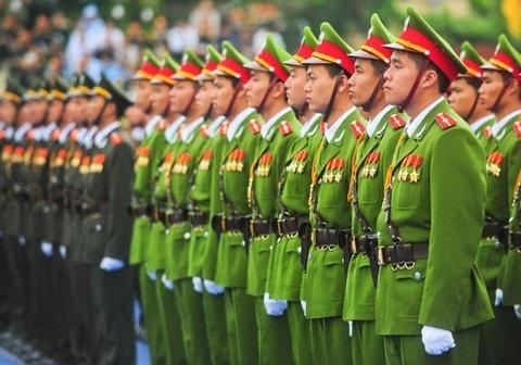 Lực lượng công an nhân dân (Ảnh minh hoạ)