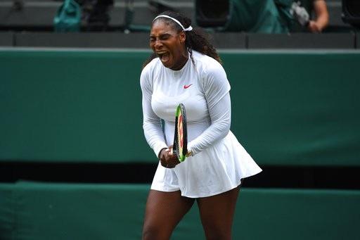 Serena Williams đang thi đấu rất mạnh mẽ