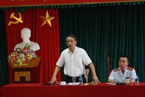 Phó Tổng Thanh tra Chính phủ Nguyễn Văn Thanh chỉ đạo tại cuộc họp (Ảnh: TTCP).