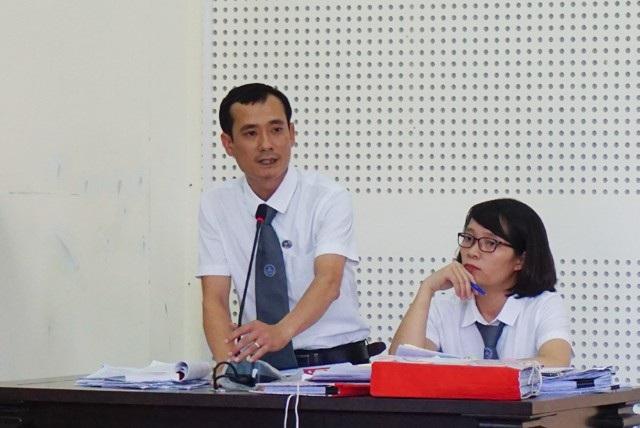 Luật sư bào chữa cho bị cáo Nguyễn Thị Lam cho rằng không đủ cơ sở chứng minh bị cáo này chiếm đoạt 50 tỷ đồng như cáo trạng truy tố