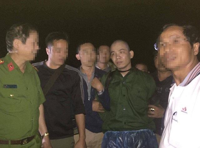 Tử tù Nguyễn Văn Tình bị bắt sau khi vượt ngục đang trên đường mò vào Lóng Luông.