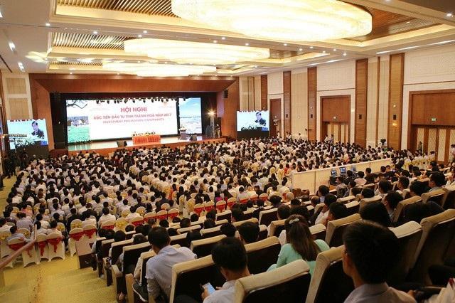 Hội nghị Xúc tiến Đầu tư tỉnh Thanh Hoá năm 2017 tại Trung tâm hội nghị Quốc tế FLC Sầm Sơn