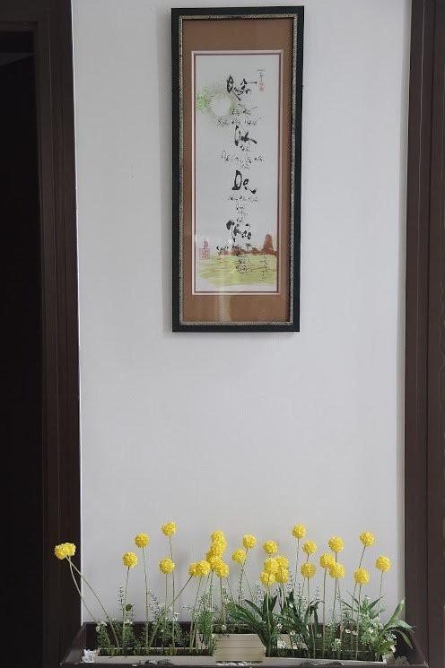 Mọi sắp đặt, trưng bày trong nhà đều được bà xã Quyền Linh tính toán chi ly.