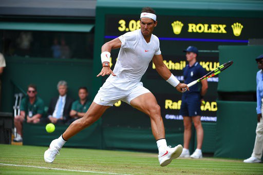 Nadal khá vất vả ở vòng hai Wimbledon