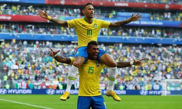 Brazil đang là ứng cử viên hàng đầu cho chức vô địch World Cup 2018