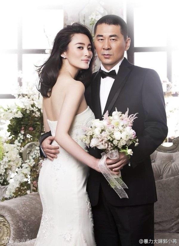 Tưởng Cần Cần và Trần Kiến Bân kết hôn vào năm 2006 sau 1 năm hò hẹn.