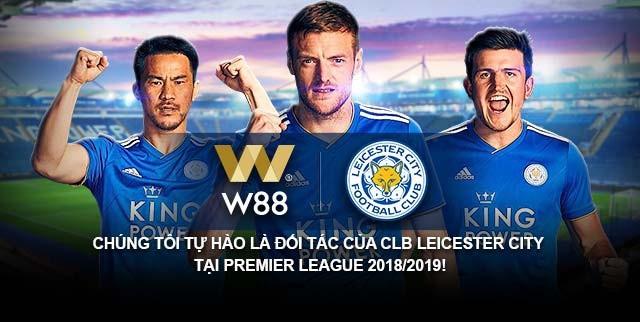 W88 trở thành đối tác chính thức toàn cầu của Leicester City - 1