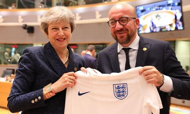 Nga sẵn sàng chào đón Thủ tướng Anh Theresa May tới dự trận đấu World Cup của đội tuyển Anh. (Ảnh: AFP)