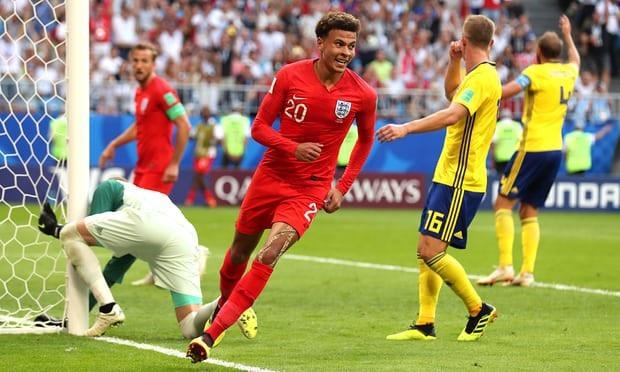 Alli ấn định chiến thắng cho Anh trước Thụy Điển