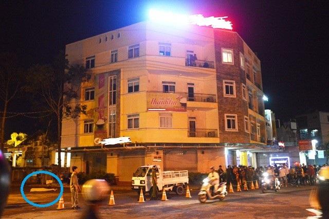 Khách sạn T.H. (TP Sóc Trăng, tỉnh Sóc Trăng), nơi Việt kiều Úc nhảy lầu tự tử vào tối ngày 6/7.