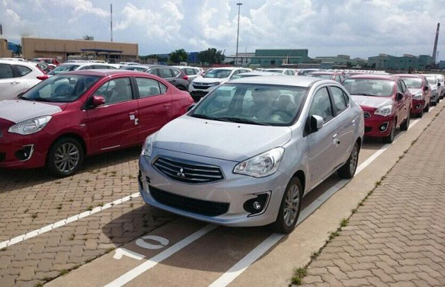 Cùng với Toyota, Mitsubishi đã có xe đăng kí nhập khẩu từ Thái Lan nhưng thời điểm này vẫn chưa chính thức được thông quan.